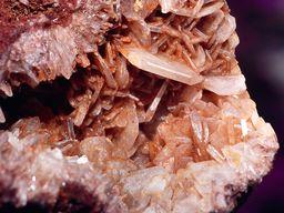 Baryt-Kristalle aus Vani (c) Tobias Schorr